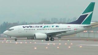 WestJet Boeing 737-600 Takeoff