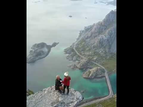 Best proposal 💞😍,Best destination to travel,Romantic ...