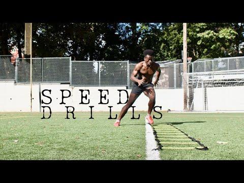 speed agility drills   explosive running SAQ