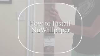 How to Install Peel & Stick Wallpaper