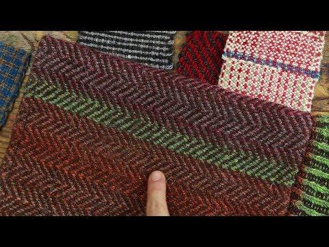 Weben: Muster, Bindungen, Patronen - eine kleine Einführung für ...