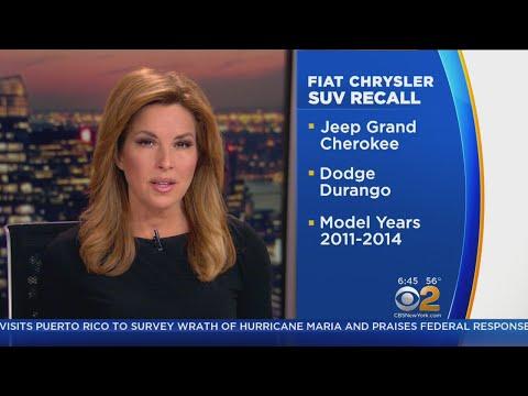 Fiat Chrysler Announces SUV Recall