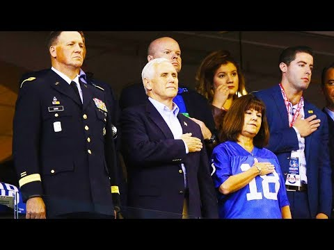 """Mike Pence Leaves NFL Game In """"Protest"""""""