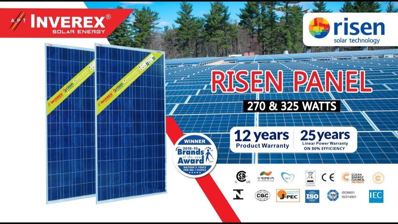 Risen solar panels Price In Pakistan | Invterex Risen 325W And Risen 270W |  dgk7