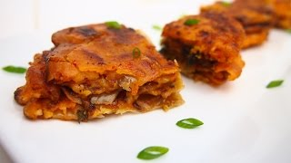 Korean Food How To Make Korean Kimchi Pancakes 김치전 Recipe
