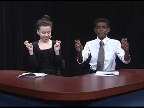 "Lynnhaven Middle School: One Act Play ""News From The Middle"""