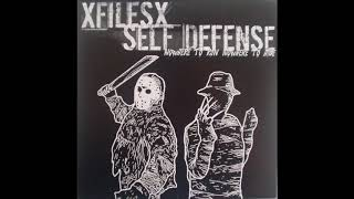 "XFilesX / Self Defense - Nowhere To Run Nowhere To Hide 7"" EP"