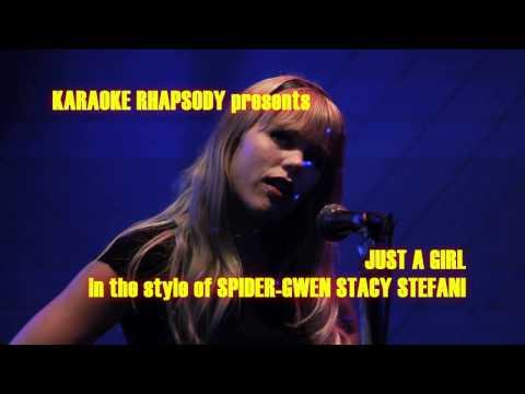"Spider-Gwen Stefani - ""Just A Girl"" - COSPLAY KARAOKE"