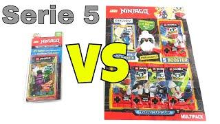 LEGO Ninjago Trading Card Game Serie 5 Duell - Blister vs Multipack