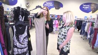 Goodbuy Girl Judy Pielach Upcycles Formal Dresses At Goodwill Store in Northbrook