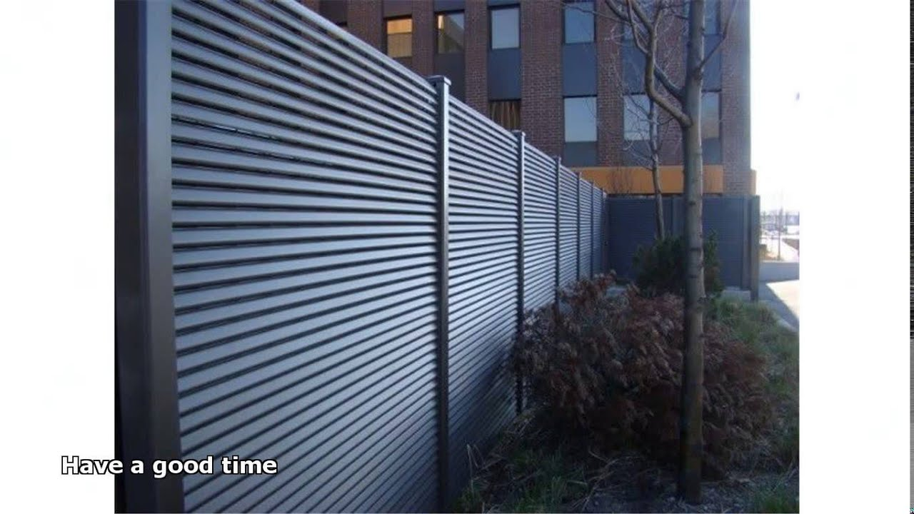 Steel fence panels youtube - Aluminum vs steel fencing ...