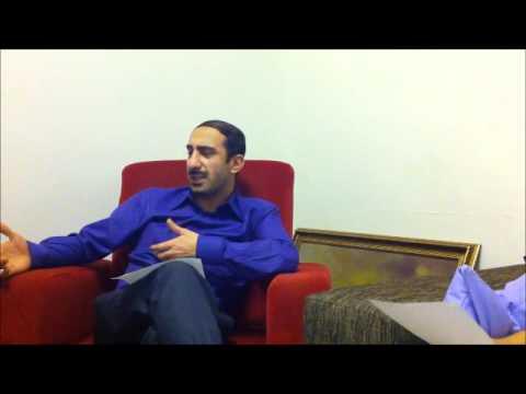 Alemin Kıralı setinde Metin YILMAZ ile ingilizce röportaj :)