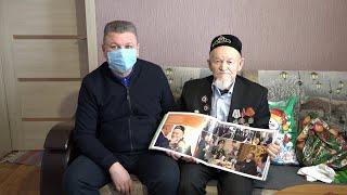 Алмаз Әхмәтшин Бөек Ватан сугышы ветераны Каим Сәмигуллинны туган көне белән котлады