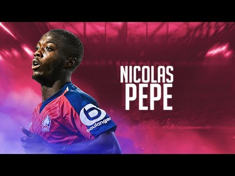 Nicolas Pepe - Goal Show 2018/19 - Best Goals for Lille OSC