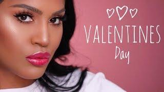 Fresh Valentines Day Makeup Tutorial   MakeupShayla thumbnail