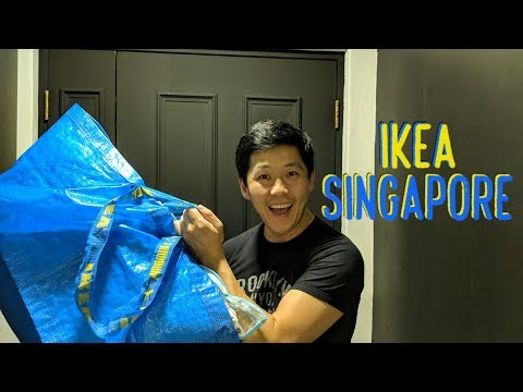 Singapore Apartment Hunting (pt.5): New Apartment and IKEA