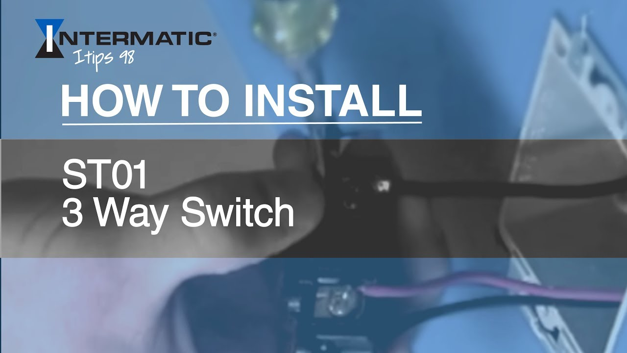 How To Install The St01 Three Way Timer Switch Youtube