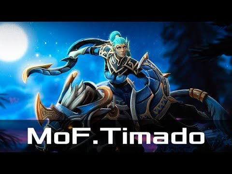 MoF.Timado — Luna, Safe Lane (Nov 2, 2017) | Dota 2 patch 7.07 gameplay