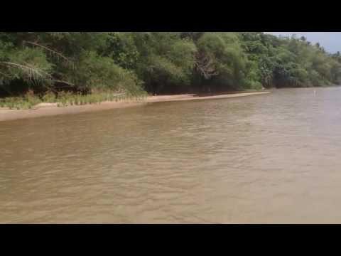 Mandi manda di sungai perak