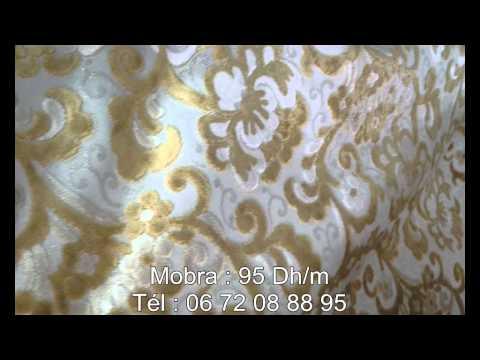 Tissus pour salon marocain traditionnel youtube for Tissu de salon marocain