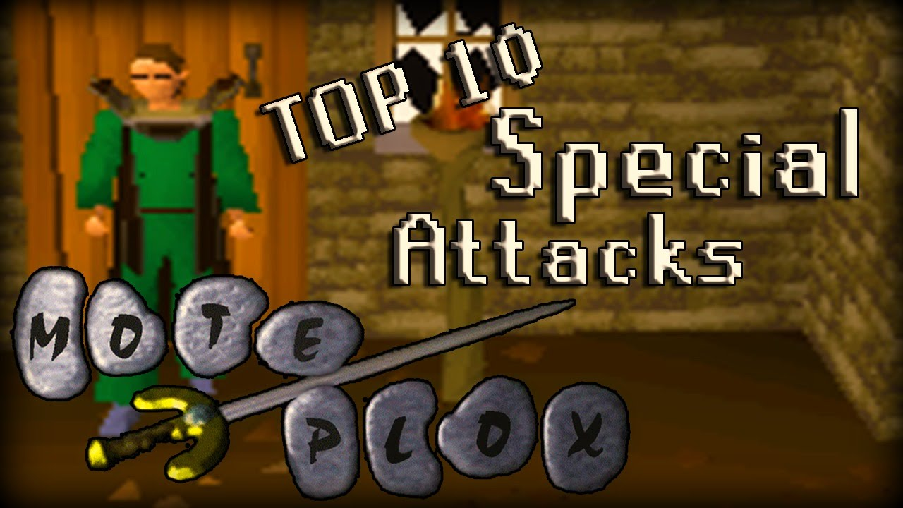 Top 10 OSRS Melee Special Attacks