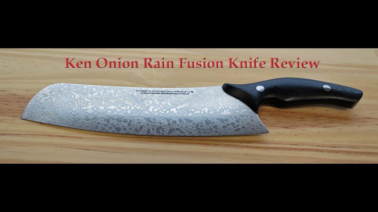 Ken Onion Rain Fusion Knife Review Youtube
