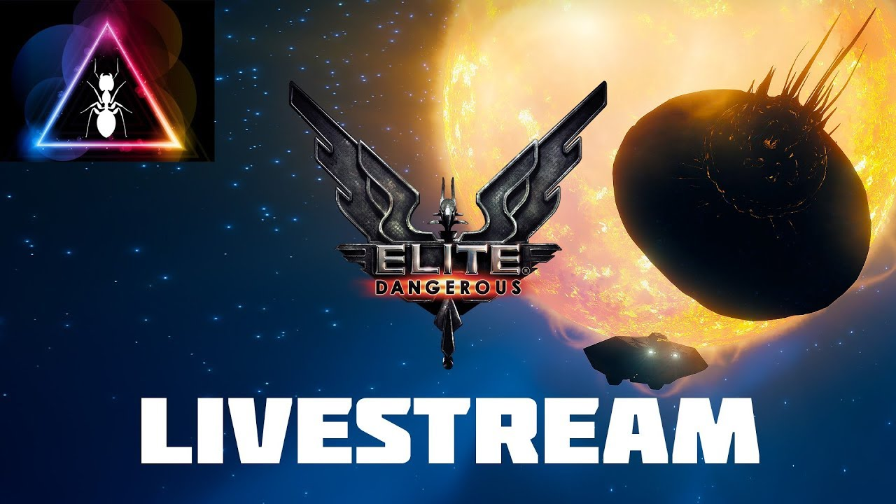 Elite Dangerous - Mining for Building a Station and Megaship in