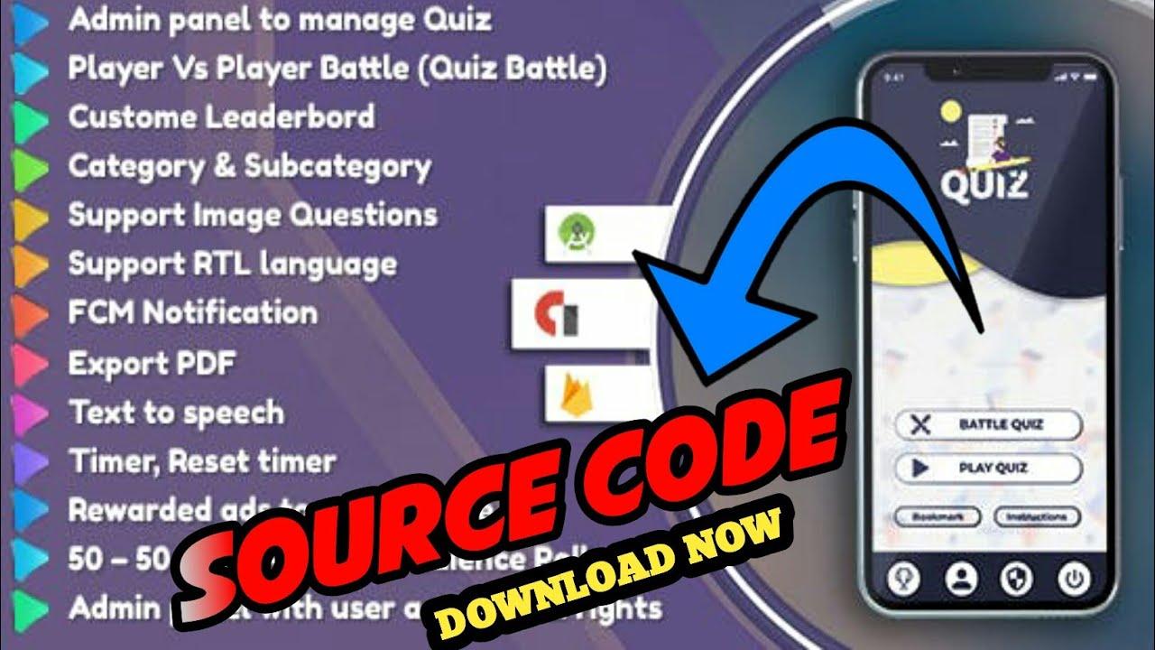 QUIZ APP SOURCE CODE || BEST ADMOB EARNING || SOURCE CODE