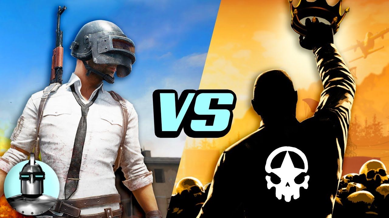 PUBG vs. H1Z1 - What's the difference? | The Leaderboard ...