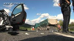 12.10.2012 -  Verkehrsunfall von Bundesligaprofi Boris Vukcevic - Auslöser war Unterzuckerung