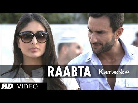Rabta Karaoke With Lyrics | Arijit Sing | Deshi Karaoke | Hindi Karaoke
