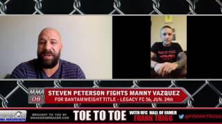 Legacy FC 56's Steven Peterson: 'I'd like to be able to showcase my striking skills'