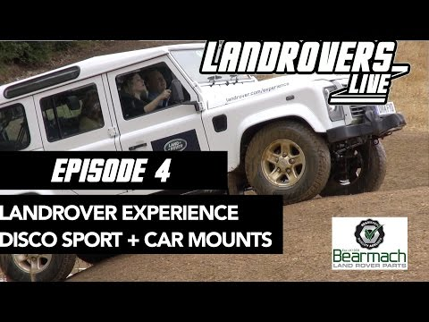 Episode 4 - Land Rover experience, Phone holders + Discovery sport