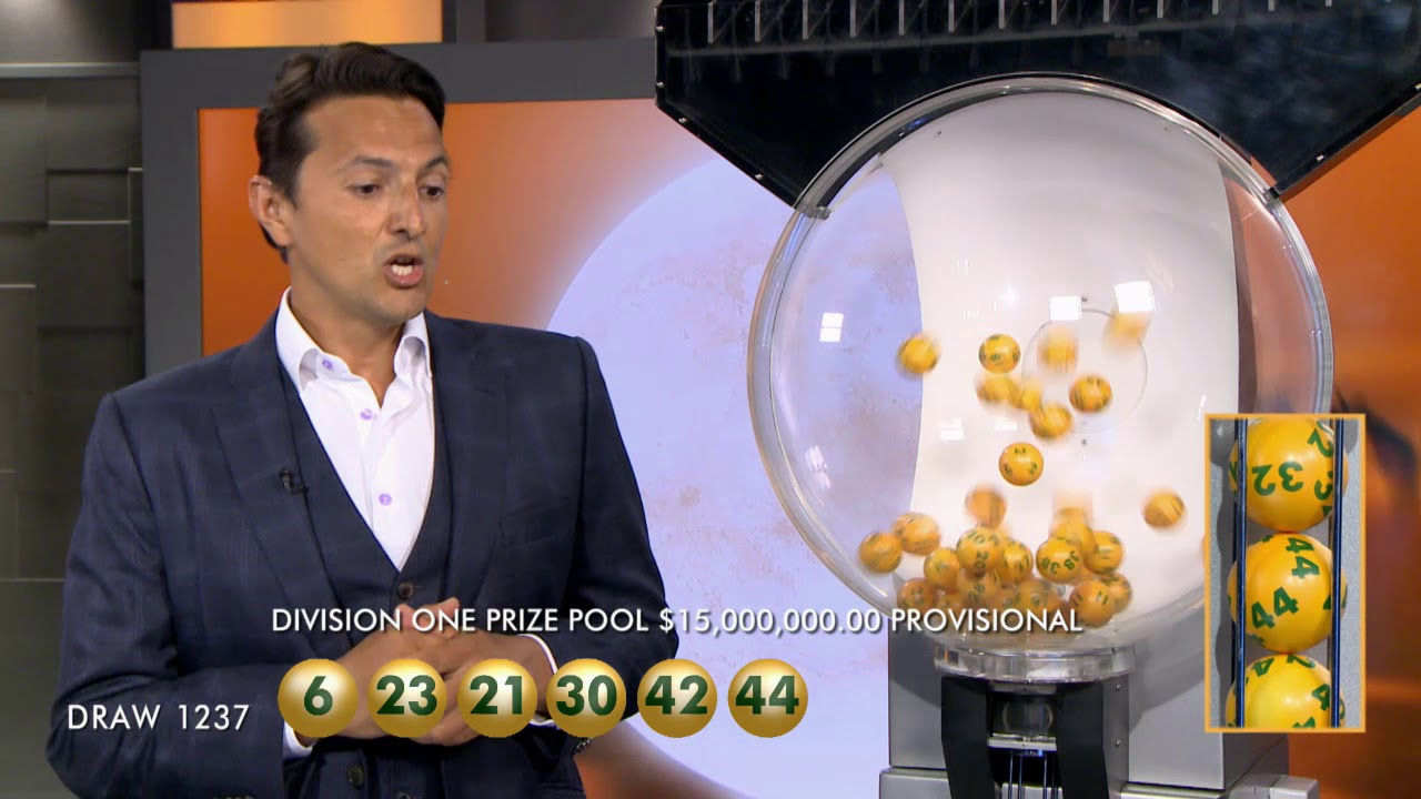 oz lotto jackpot this week