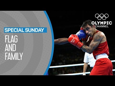The Armenian Refugee Boxing at the Olympics For Germany | Flag and Family