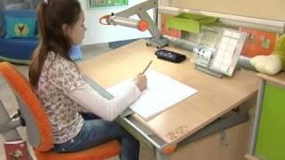 видео растущий стул для ребенка