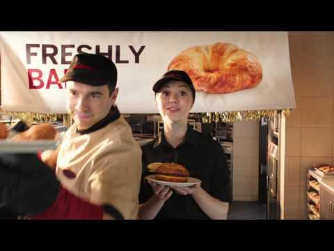 Tim Hortons Croissant Breakfast Sandwich