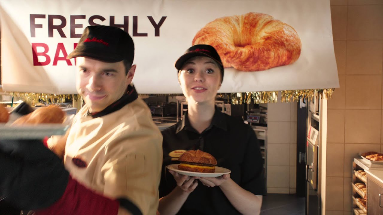 tim hortons croissant breakfast sandwich youtube