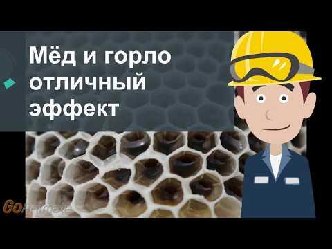 Можно ли мед когда горло болит
