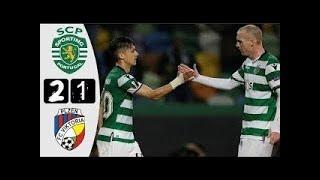 Viktoria Plzen vs Sporting CP 2-1 All Goals & Highlights (Europa League) [15.03.2018]