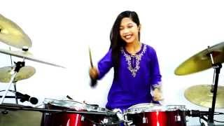 Wali Band - Si Udin Bertanya - Drum Cover by Nur Amira Syahira - Stafaband