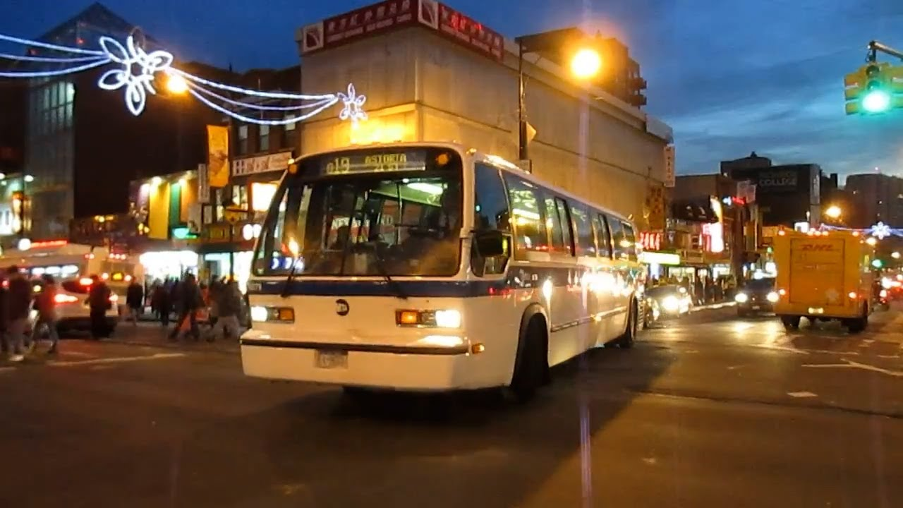 astoria bound nova bus rts t80-206 #9279 on the q19 at roosevelt ave
