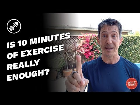 Is 10 minutes of exercise really enough? (Plus a challenge from Andy!)