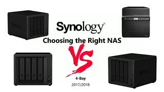 Synology 4-Bay Comparison 2017 and 2018 - Should you buy the DS918+, DS418play, DS418j or DS418