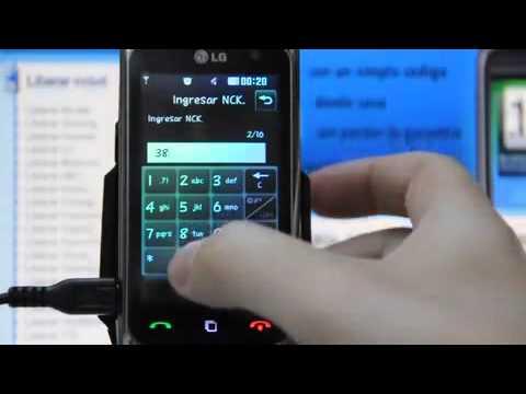 Liberar LG KM570, desbloquear LG KM570 de Movistar Movical Net