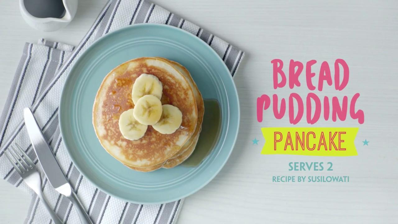 NEA Love Your Food Recipe Contest - Bread Pudding Pancake - YouTube