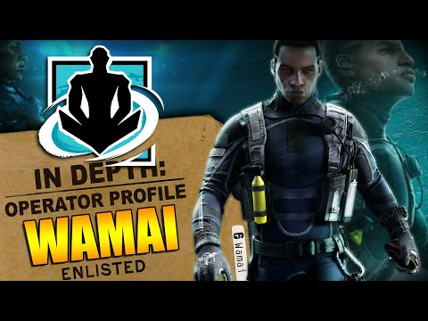 Rainbow Six Siege - In Depth: HOW TO USE WAMAI - Operator Profile for Shifting Tides