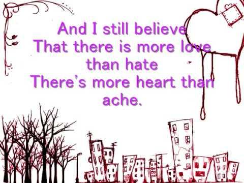 Believe-The Red Jumpsuit Apparatus lyrics