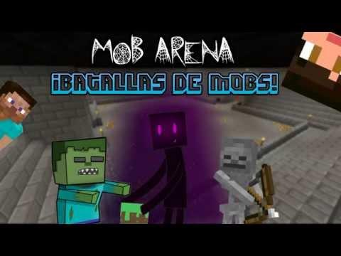 Mob Arena #1 | Peleas de Mobs | MCPE 0.10.5