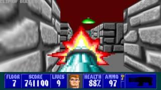 Wolfenstein 3D - Episode 4, Floor 7